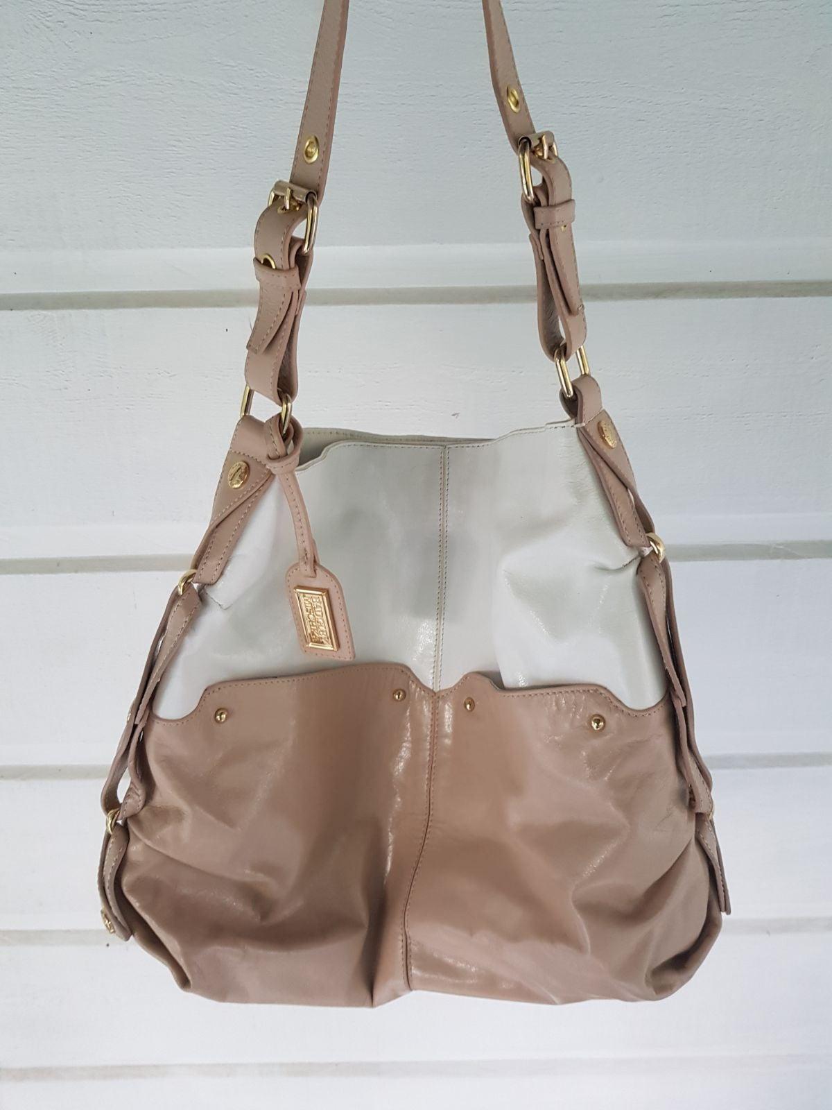Badgley Mischka leather hobo Bag excelle