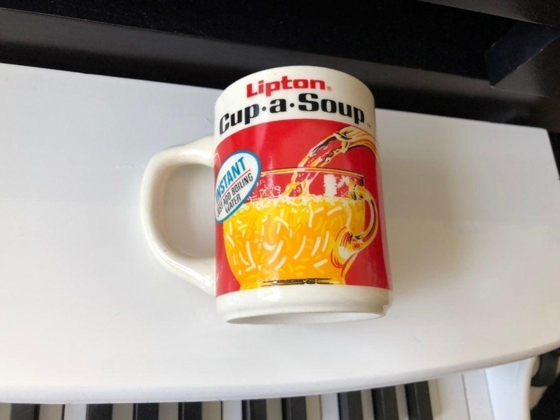 Lipton cup a soup mug