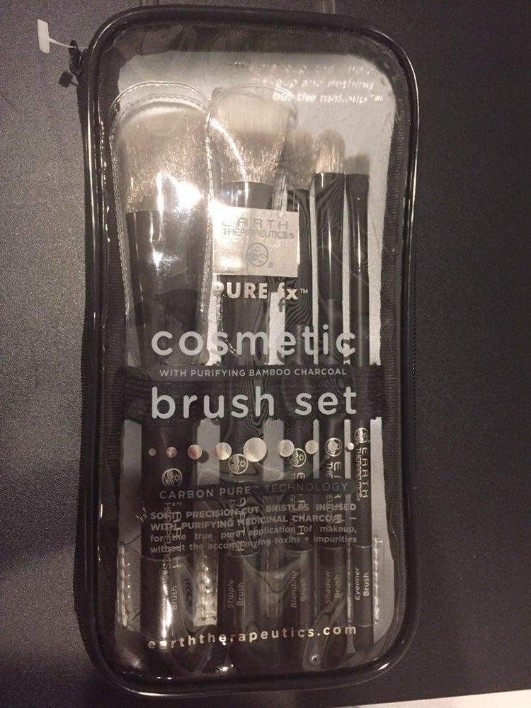 Earth Therapeutics Cosmetics Brush Set