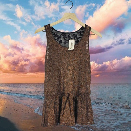Forever 21 Bronze Muscle Shirt
