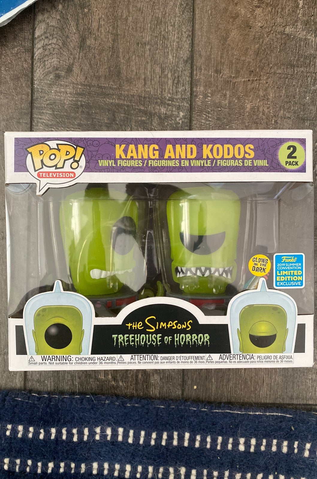 kang and kodos Funko pop SDCC 2019