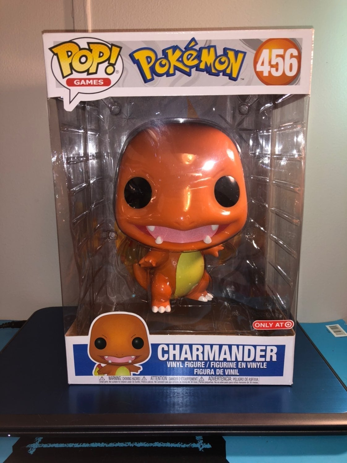 """10"""" Funko Pop Pokemon Charmander"""