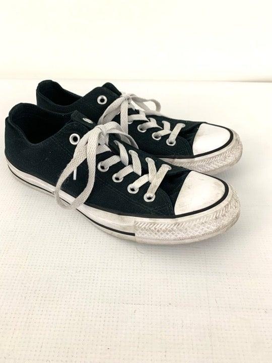 Converse Black Double Tongue Low Shoe