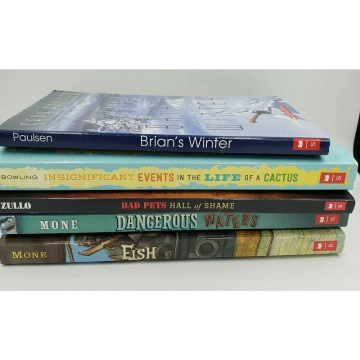Lot of 5 kids chapter books mixed variet
