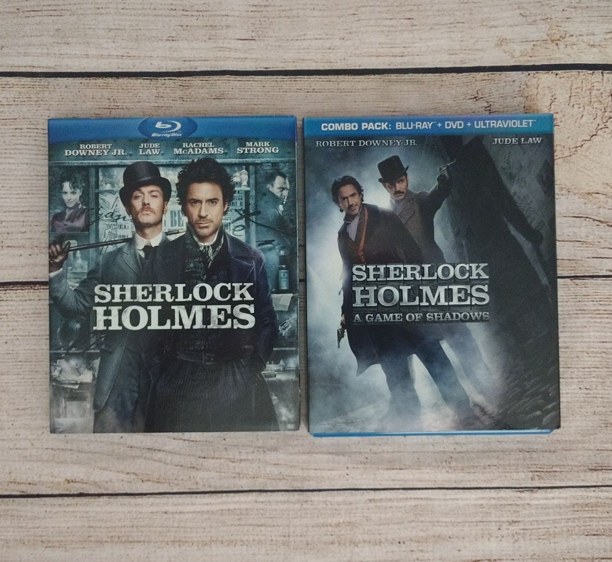 Sherlock HOLMES blu ray Game of Shadow's