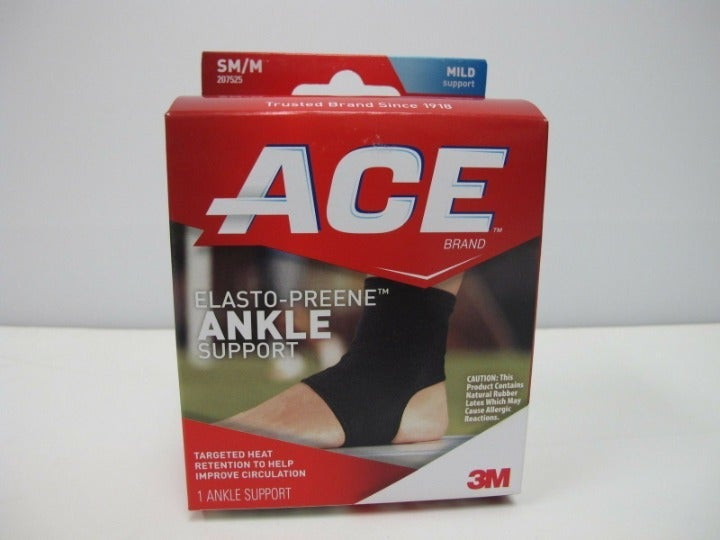 ACE Elasto-Preene Ankle Support, SM/M