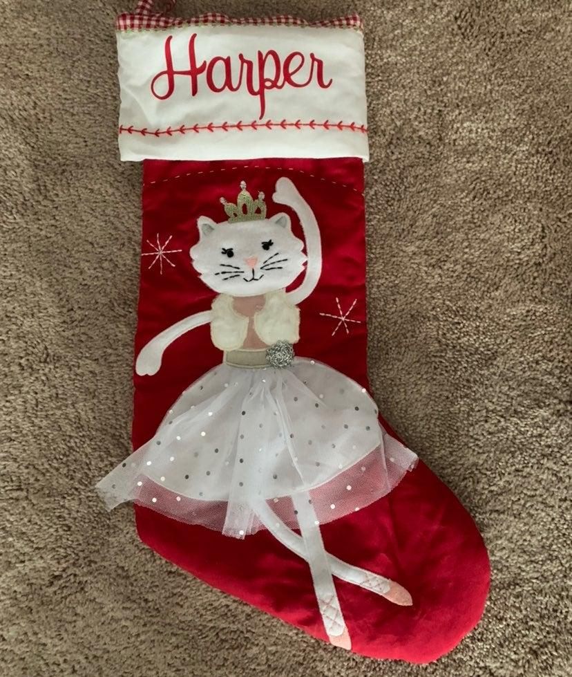 Harper Pottery Barn Kids stocking