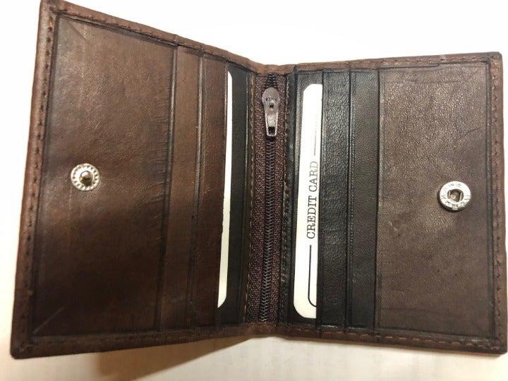 Genuine Leather credit Card Holder