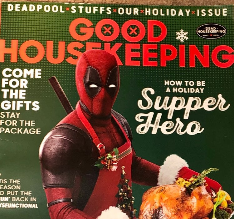 Good Housekeeping Mag Deadpool Issue