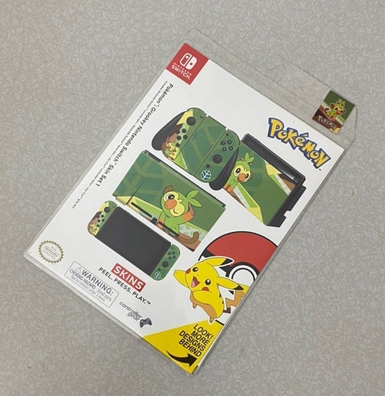Pokemon Switch Skin New