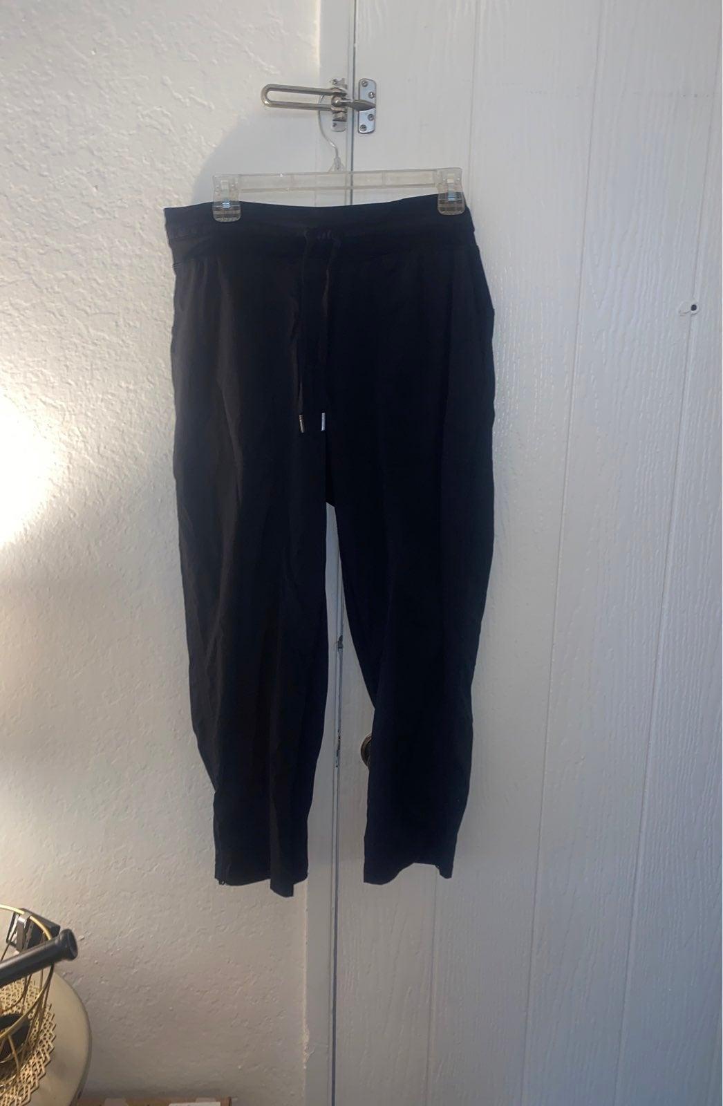 Lululemon Black Jogger Pants Size 12