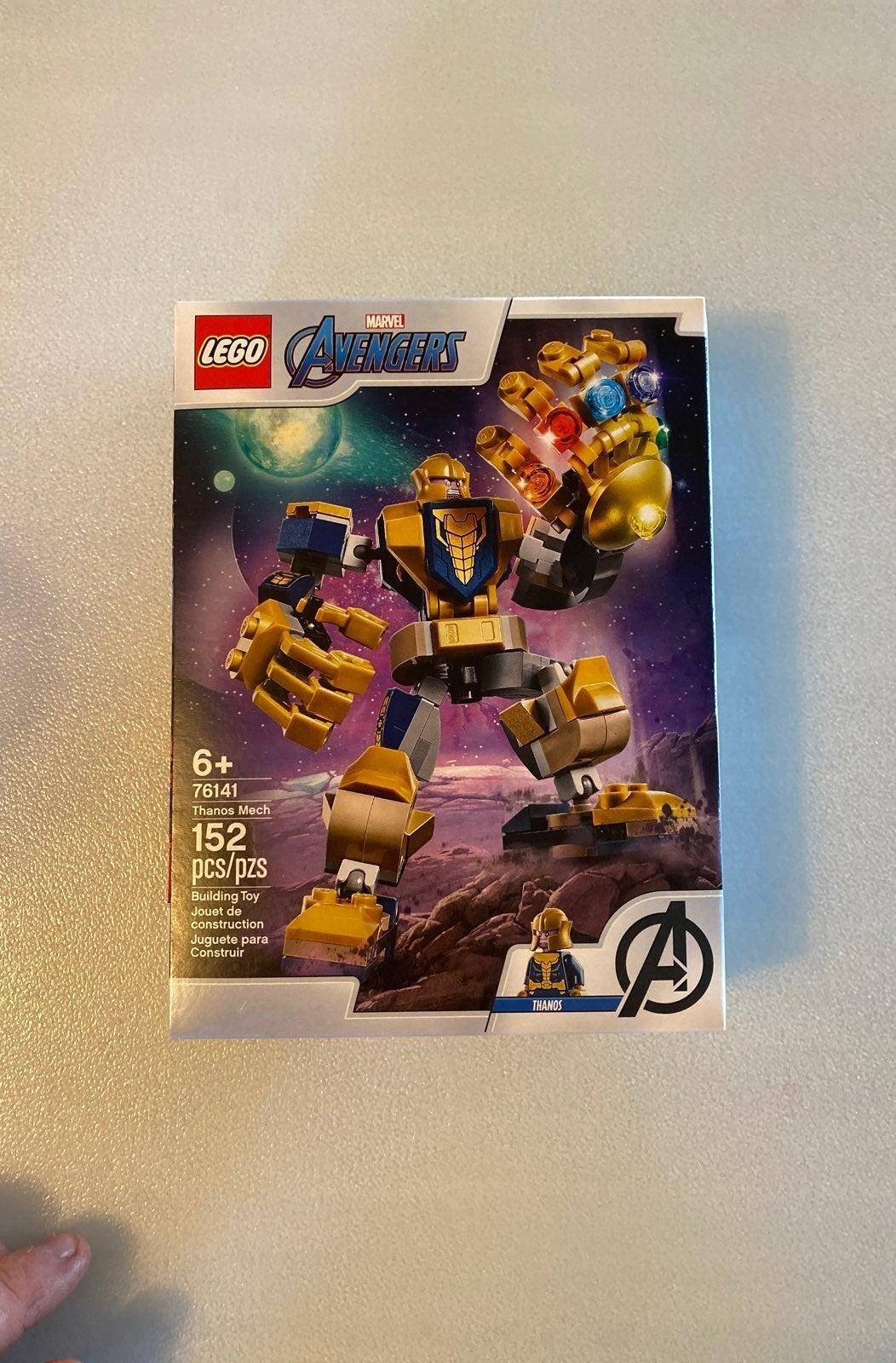 Lego Marvel Thanos Mech Set