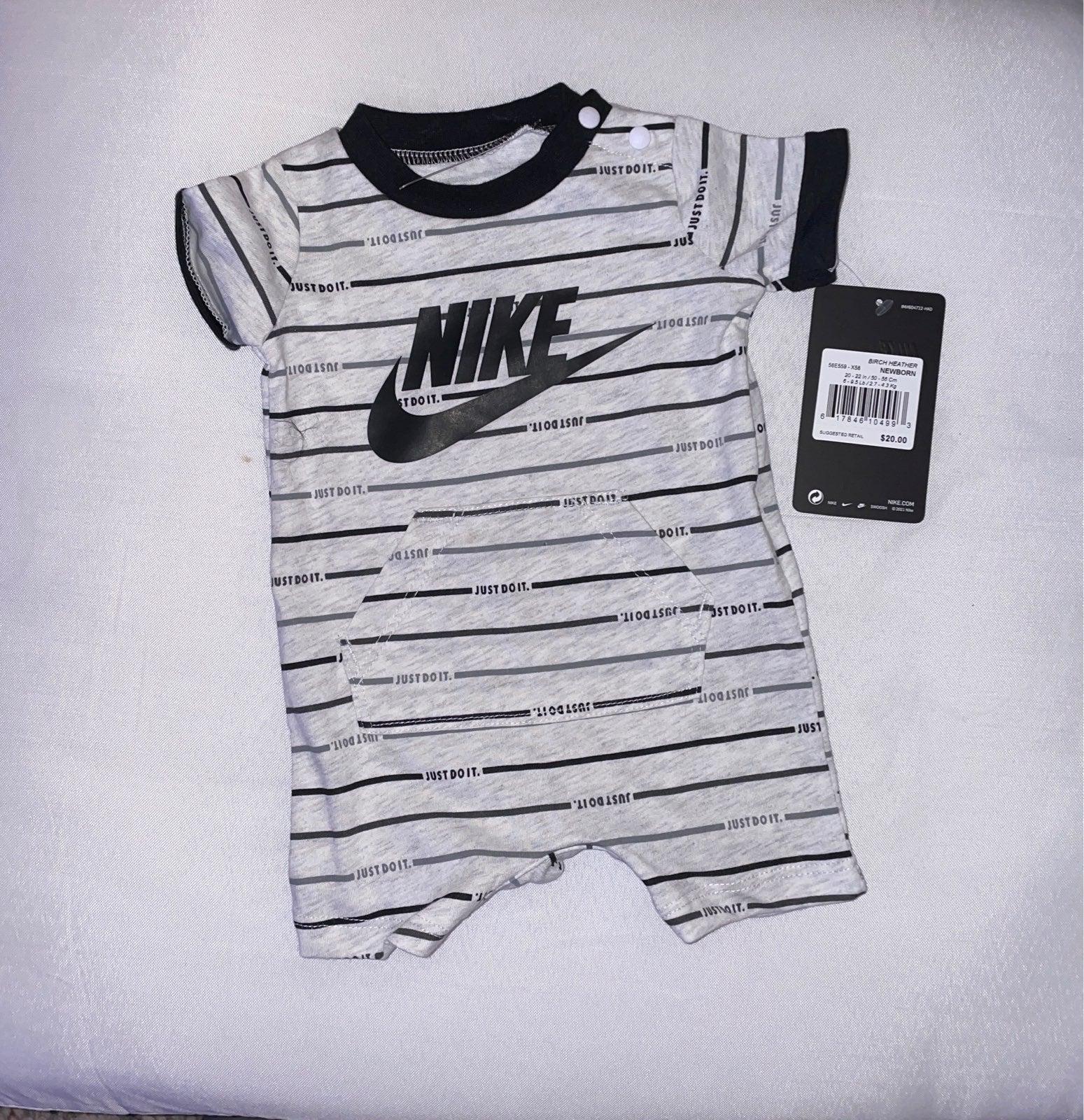 Newborn Nike boy