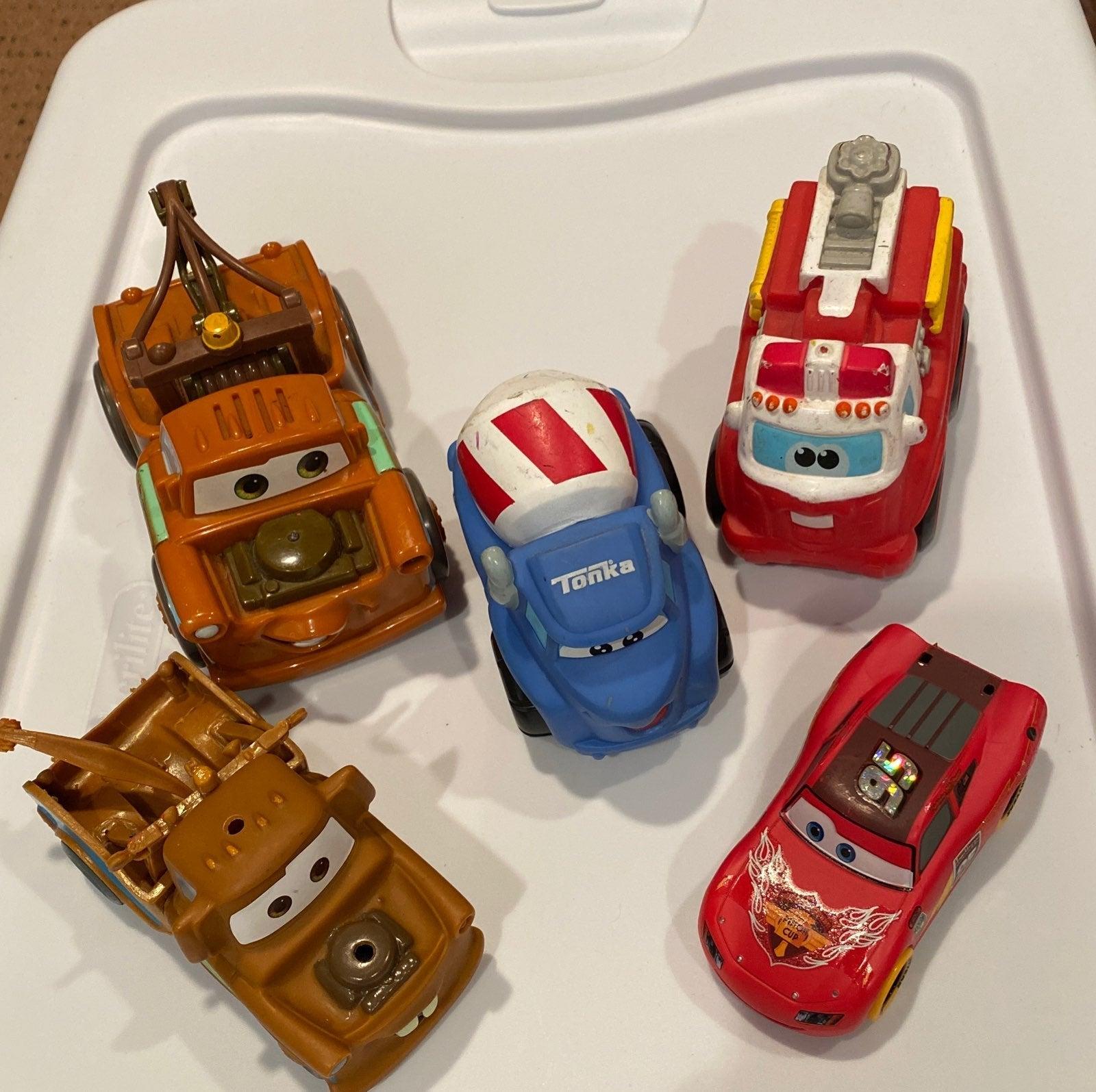Lot of 5 Disney Pixar Cars