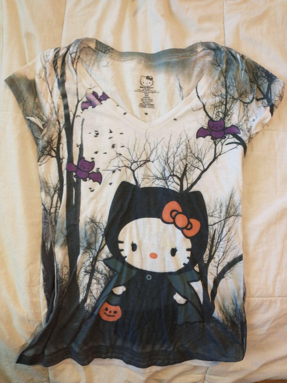 Halloween Hello Kitty Shirt
