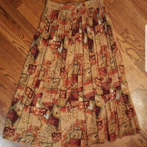 Vintage Symphony Fall Skirt