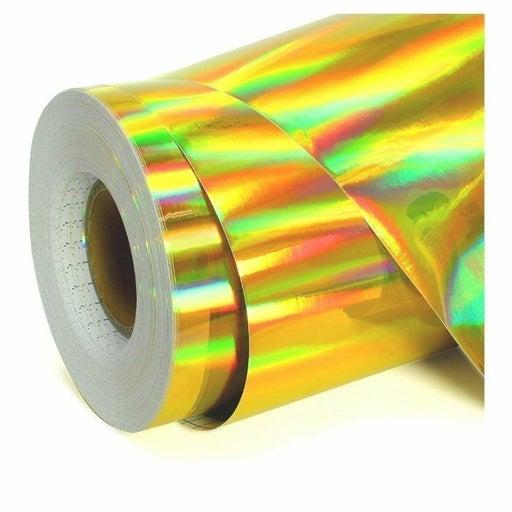 Holographic Gold Permanent vinyl