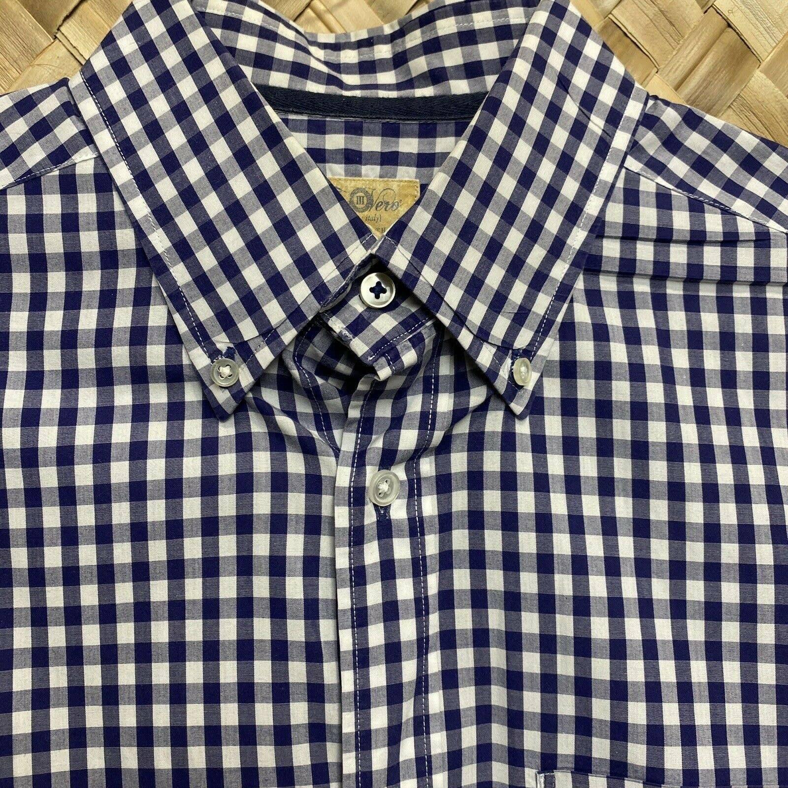 Tre Vero Gingham Dress Shirt