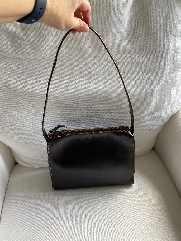 Kate Spade Dark Brown Leather shoulder b