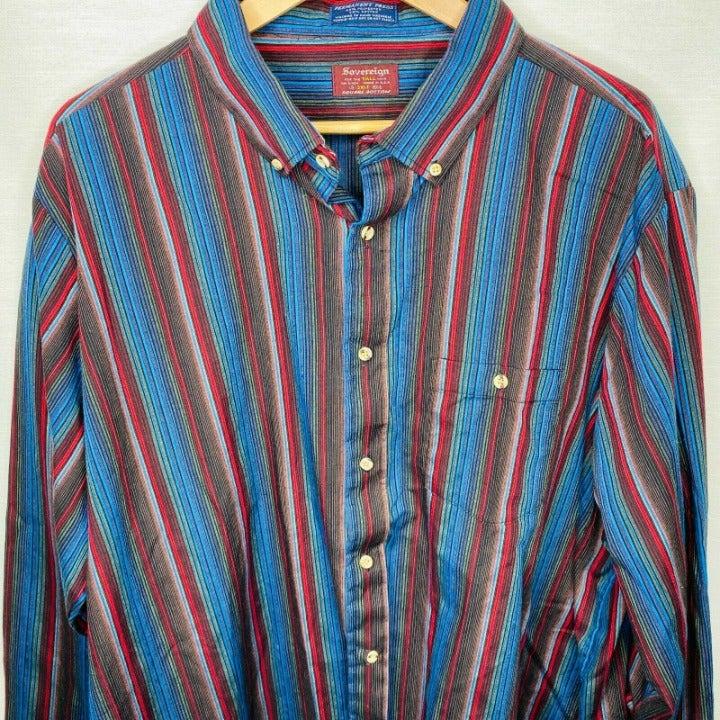 Vintage Sovereign 3XLT 19-191/2 shirt