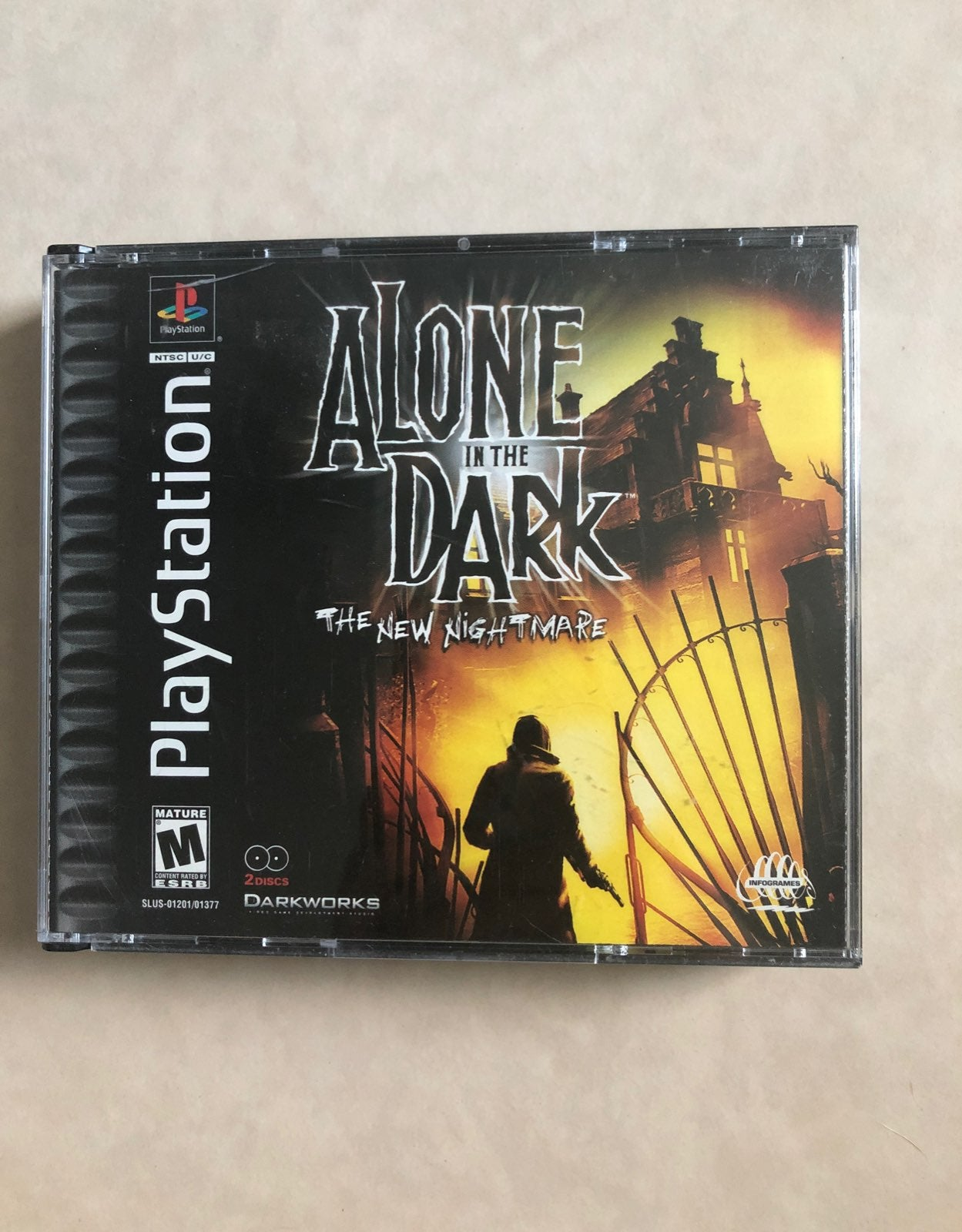 Alone In The Dark for the PS1