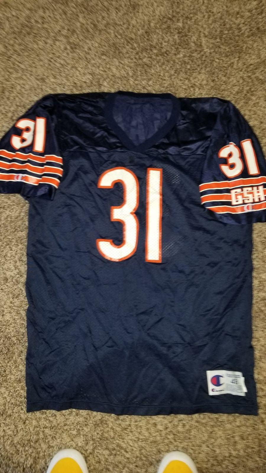 Vtg champion chicago bears salaam Jersey