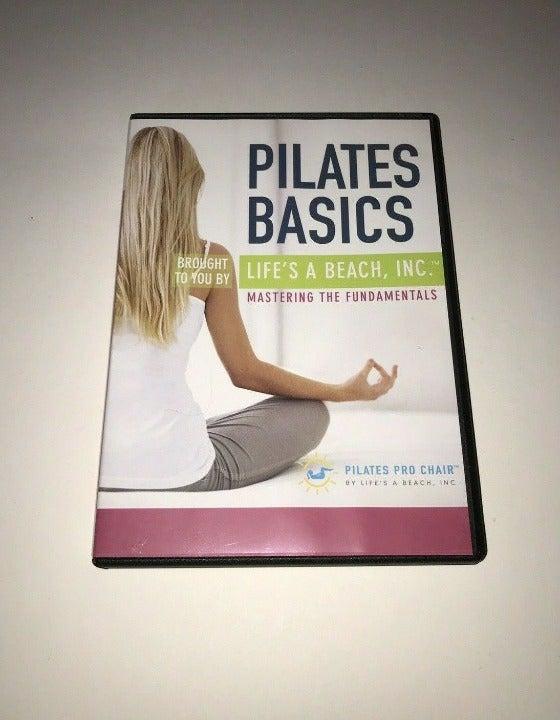 Pilates Basics Life's A Beach DVD New