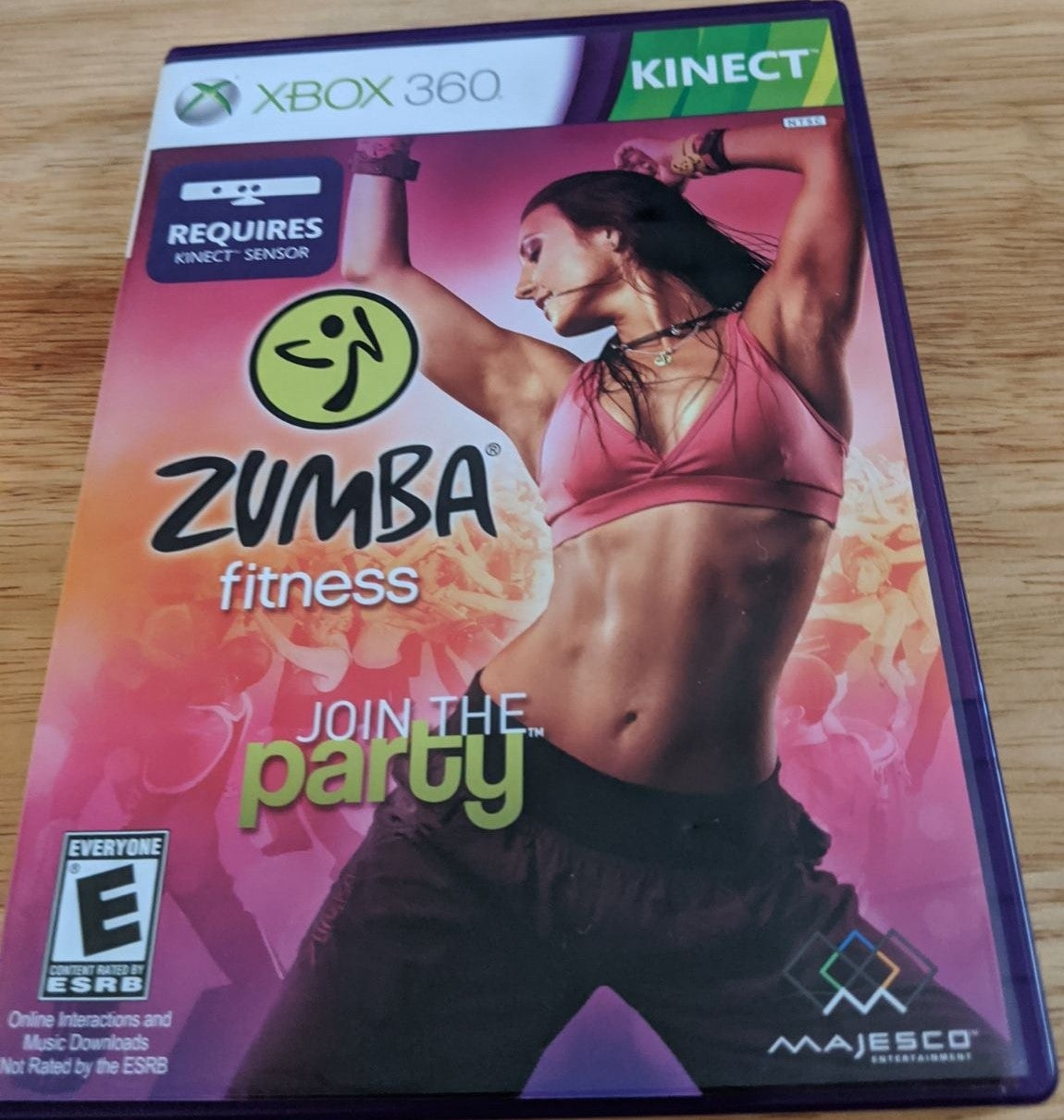 Xbox 360 Kinect Zumba Fitness Party Game