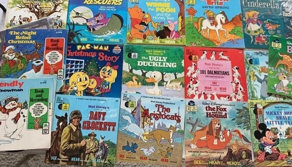Huge Lot of Record & Books!