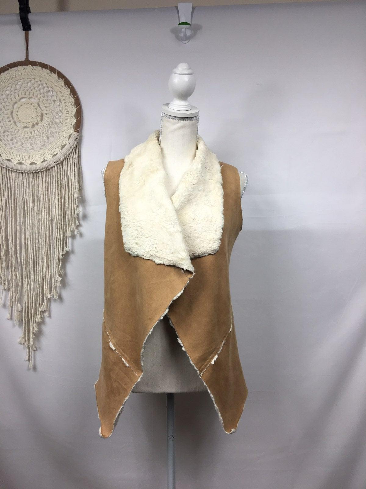 Altar'd State Faux Fur Suede Vest