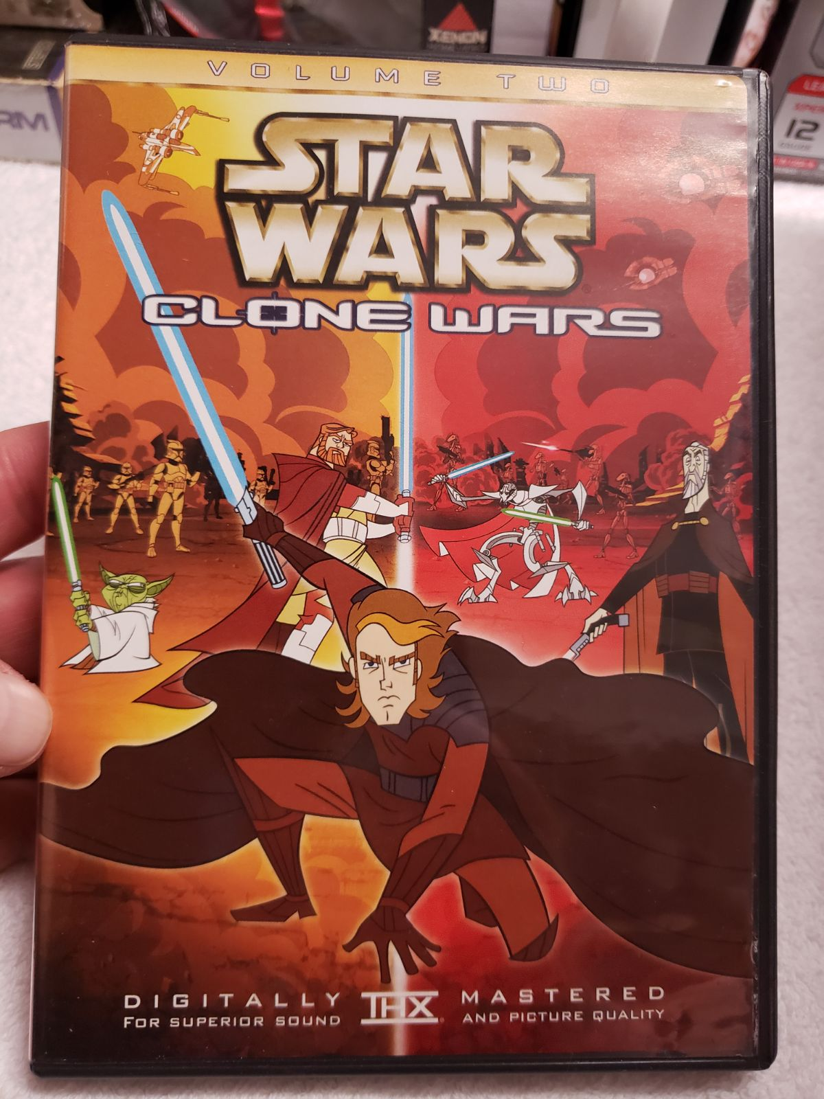 Star Wars Clone Wars Volume Two DVD