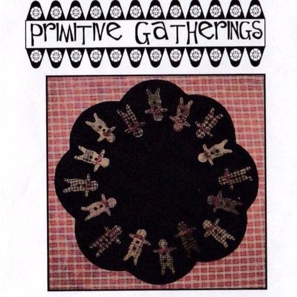 Appliqué Pattern Ginger Boys Table Mat