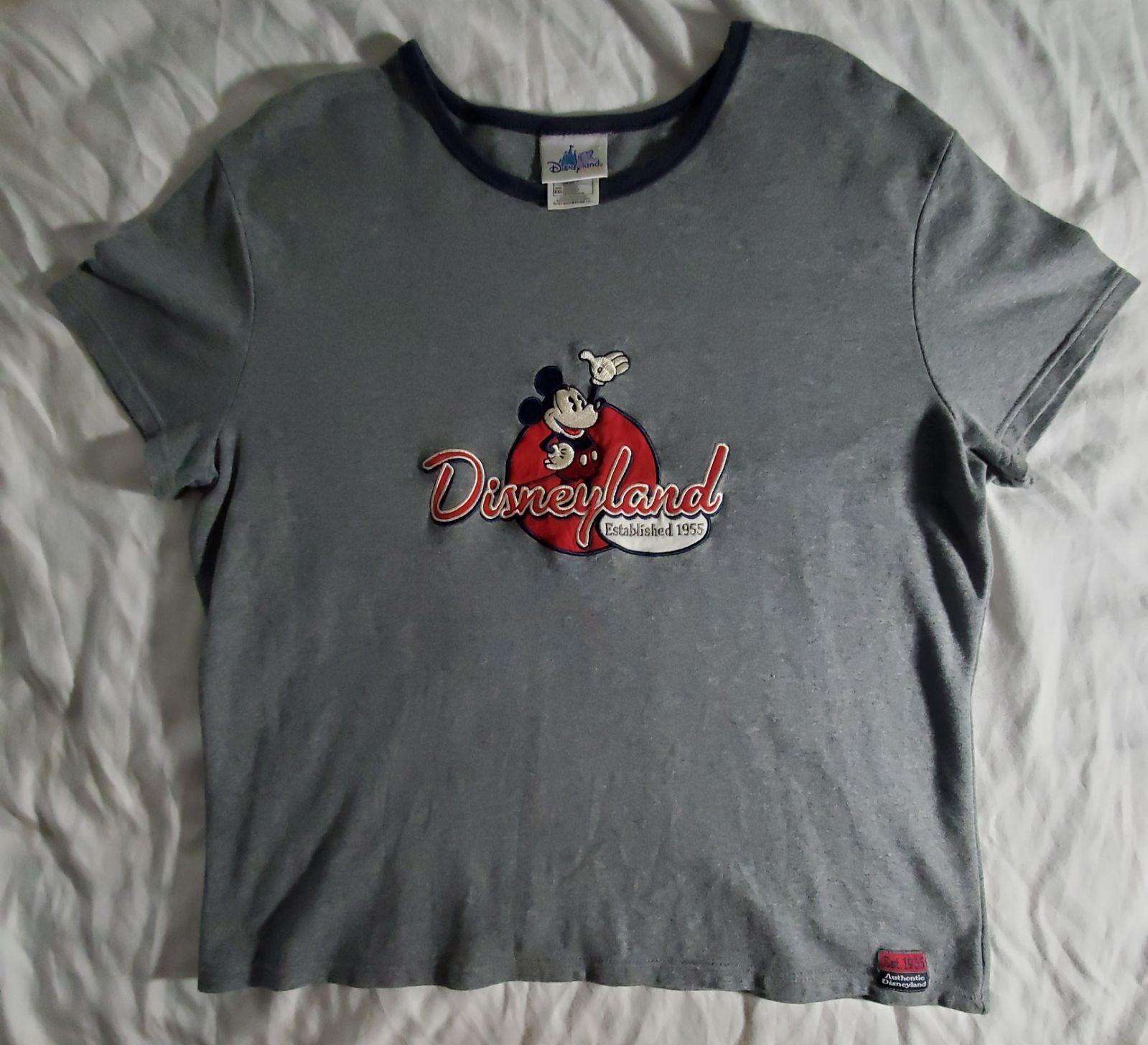 Vintage Disneyland Embroidered tee