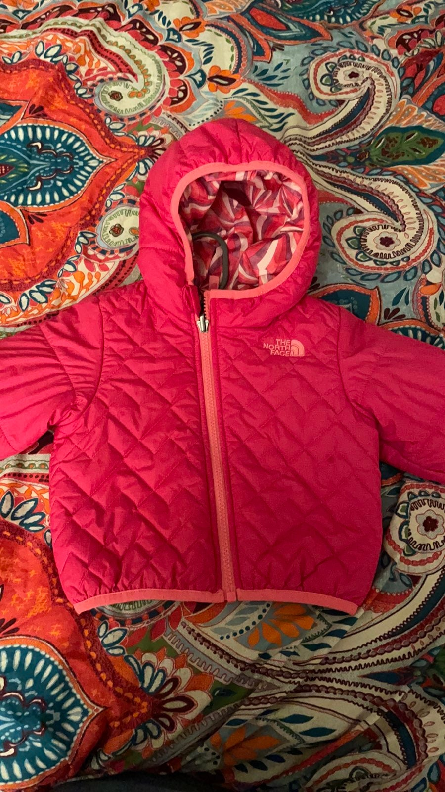 Toddler girls The North Face winter jack