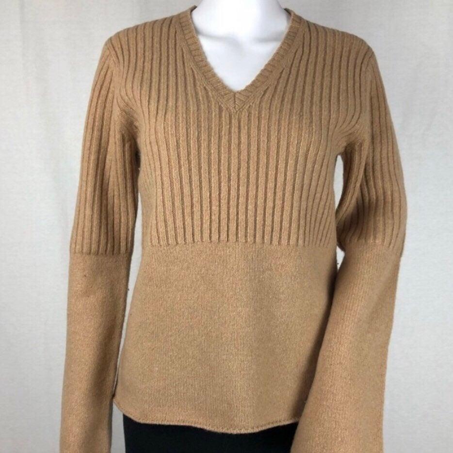 J.Crew Wool V-Neck Sweater Size M