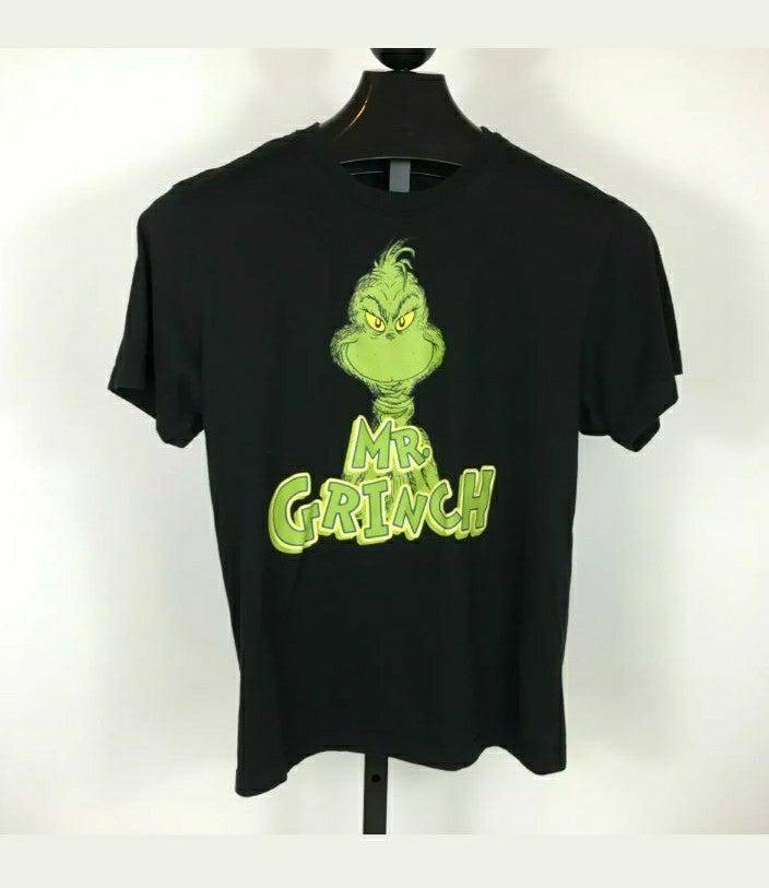 Dr Suess Mens Mr Grinch Tshirt Sz Small
