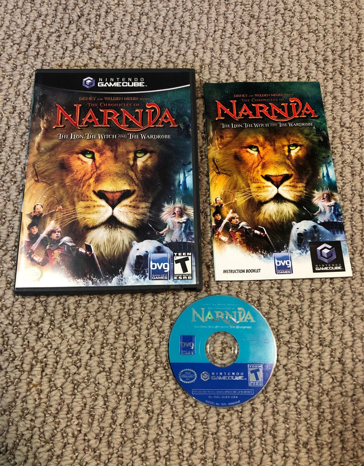The Chronicals of Narnia (Gamecube)