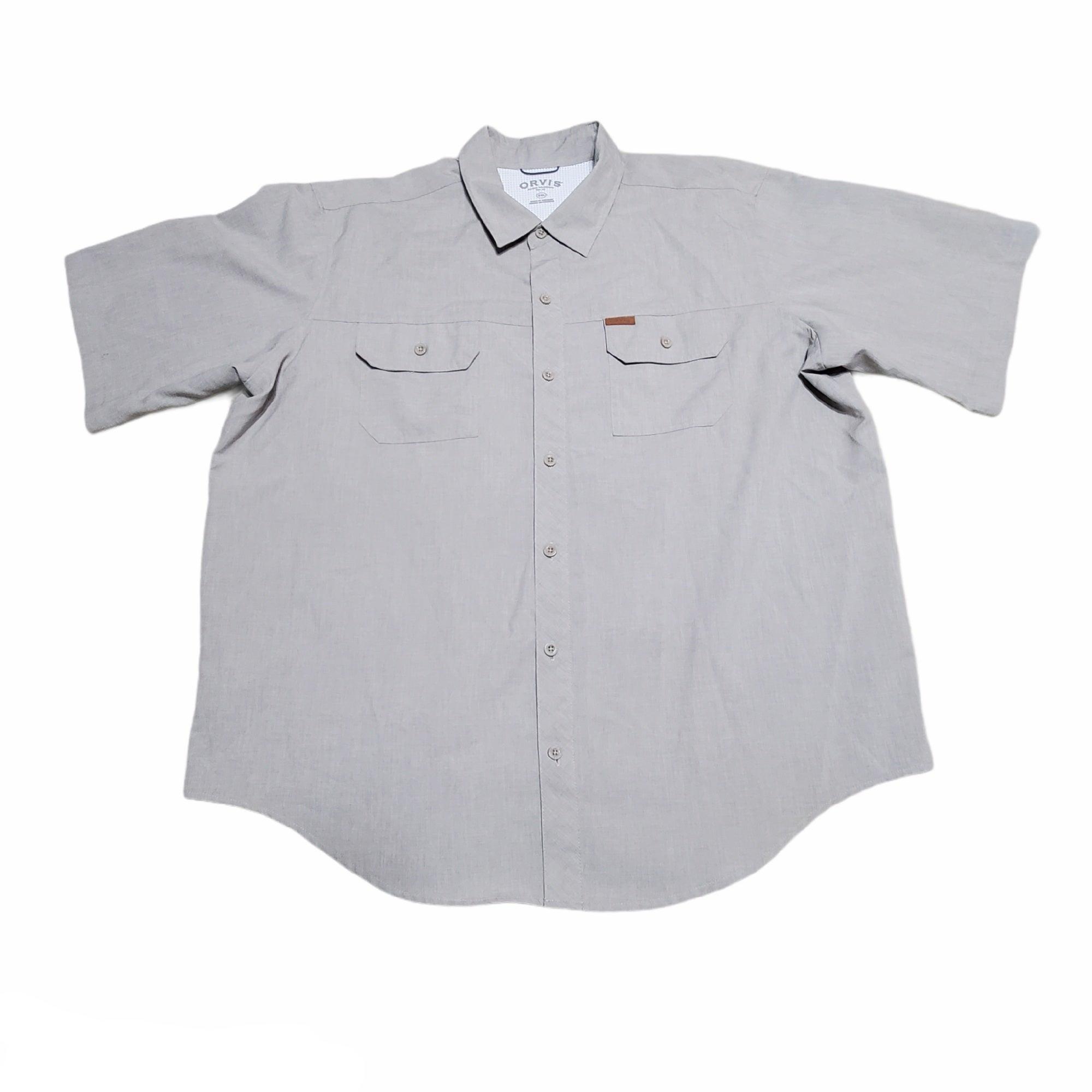 Men's XXL Orvis Button Up Shirt