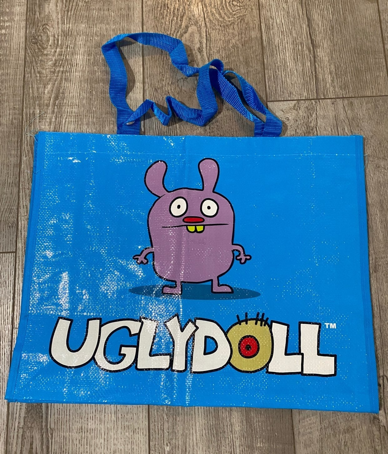 Blue Uglydoll Tote bag with Trunko