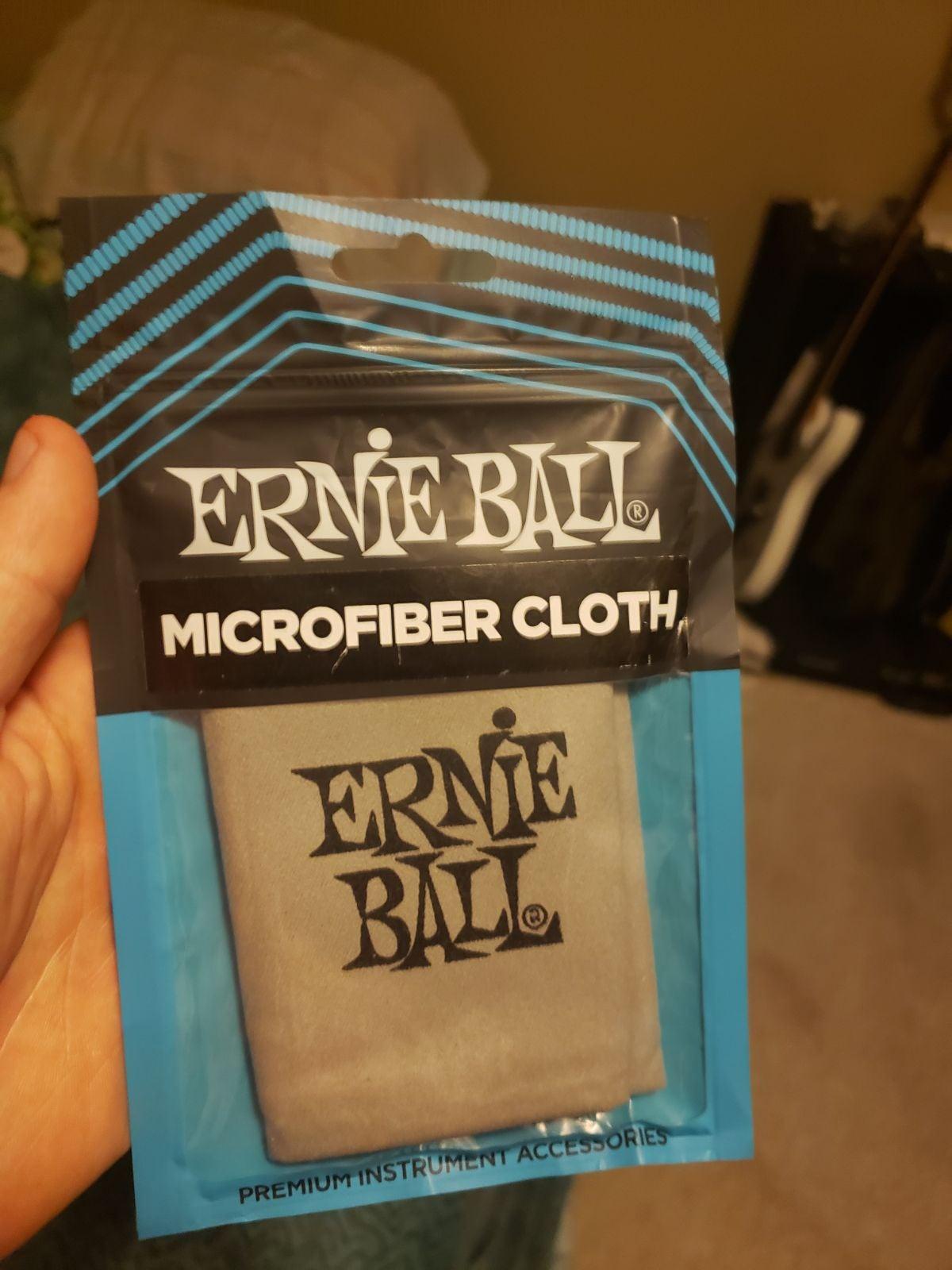 Brand new Ernie Ball Microfiber cloth