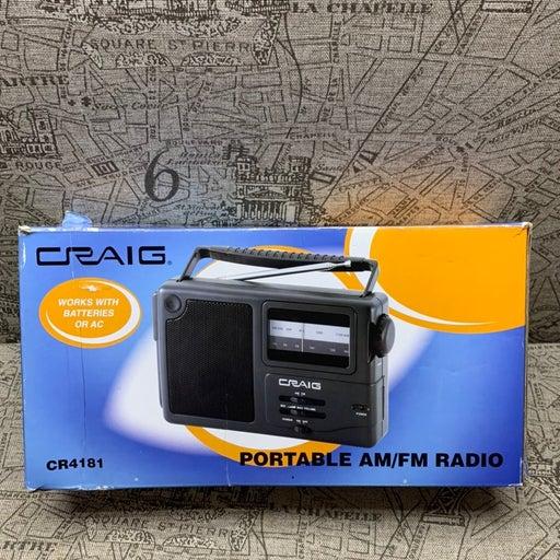 Craig CR418W Am / Fm Portable Radio