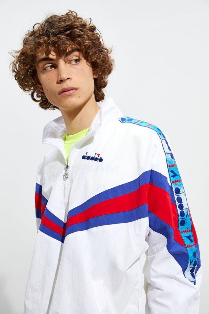 Diadora MVB Half Zip Pullover Jacket