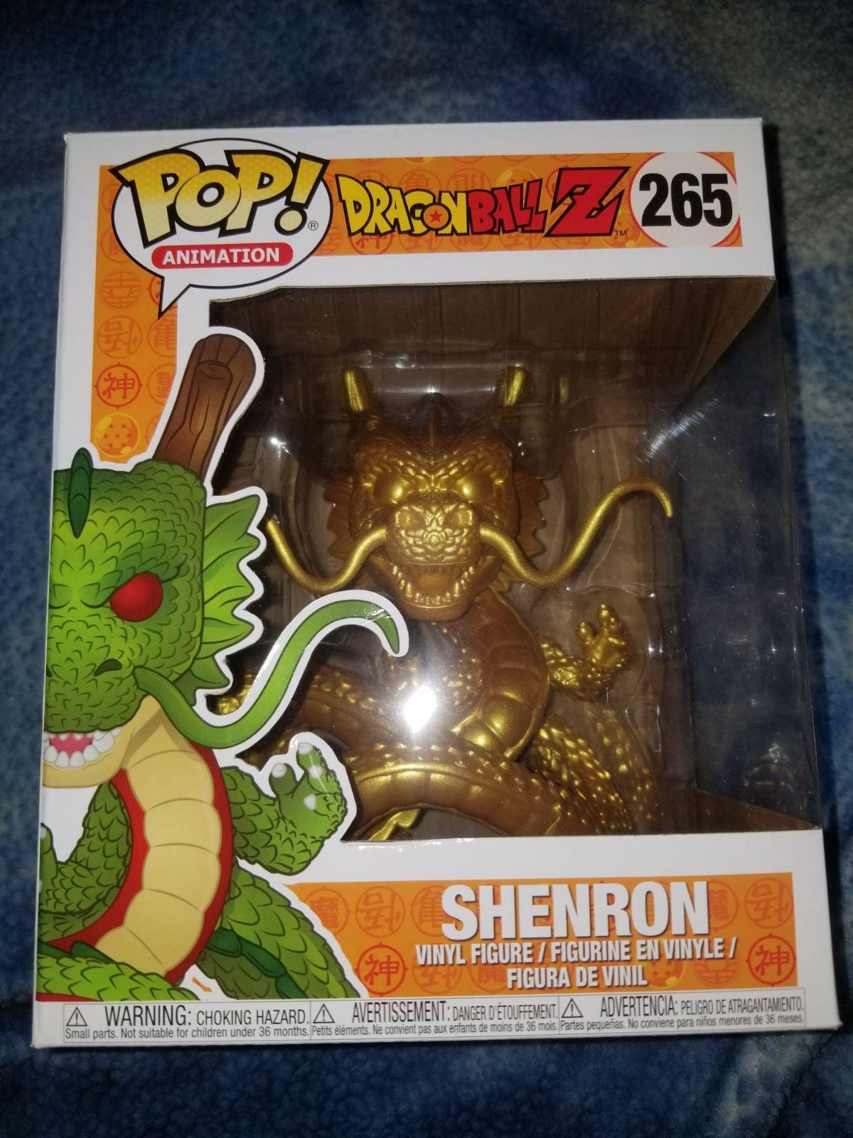 Gold Shenron Funko Pop