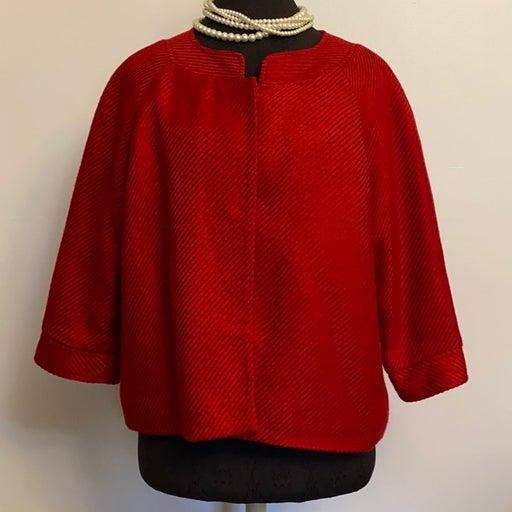 Covington Red Cape Jacket