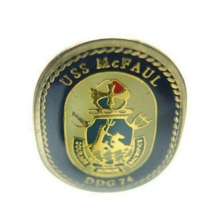 USS McFaul DDG-74 United States Navy Pin
