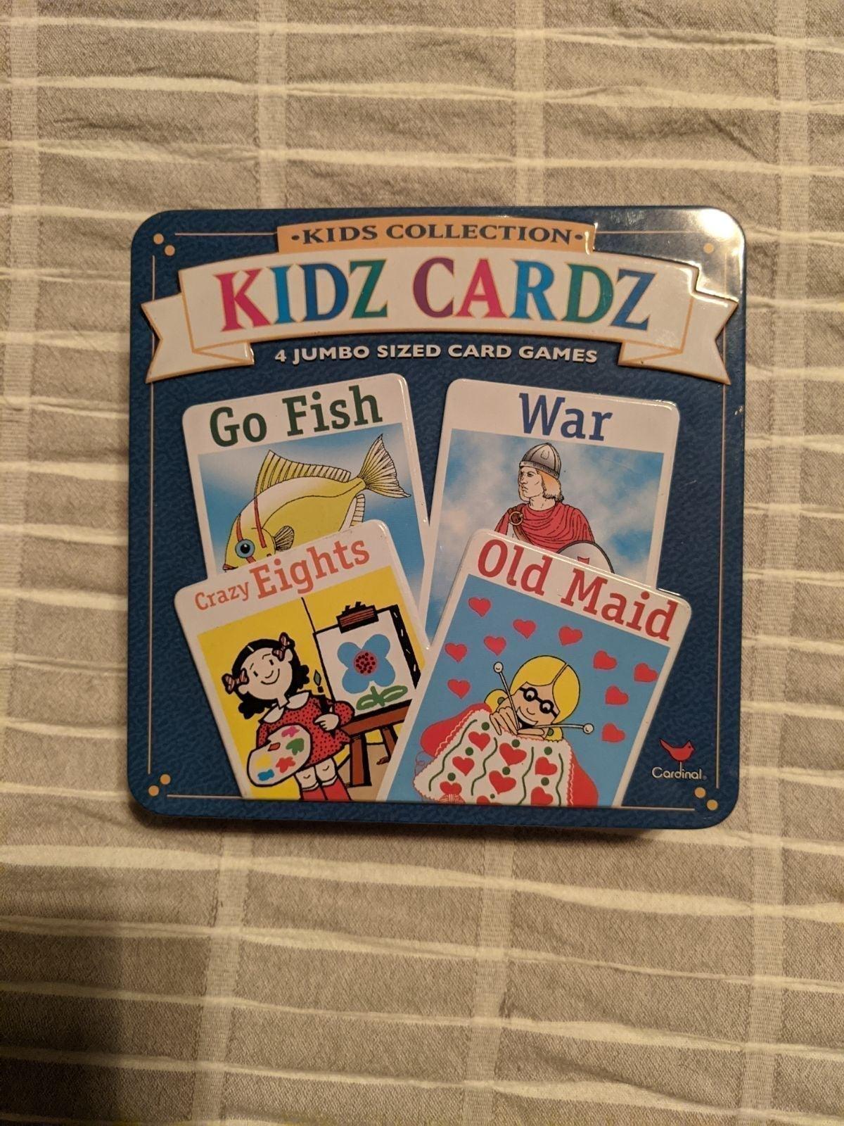 Kidz Cards - 4 card games