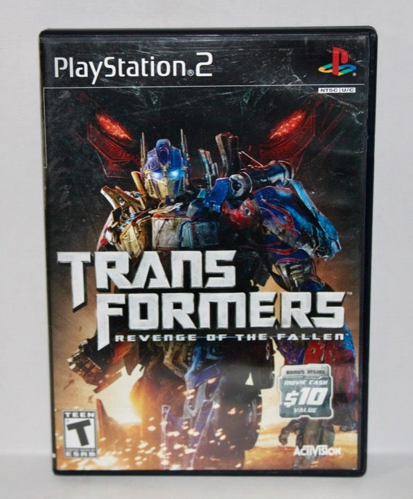 Transformers Revenge Of The Fallen PS2