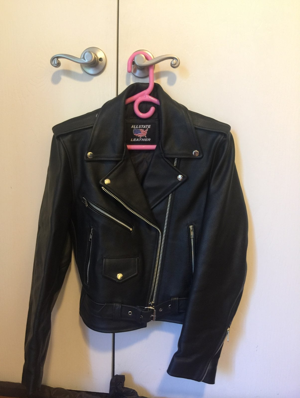 Real Leather biker Jacket