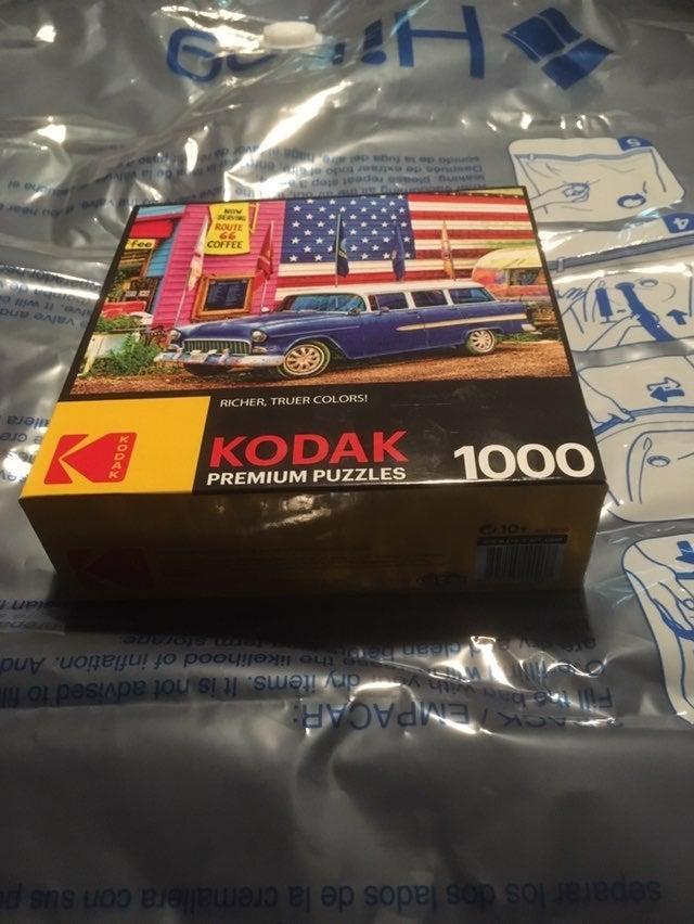 Kodak Premium Puzzle 1000 Route 66