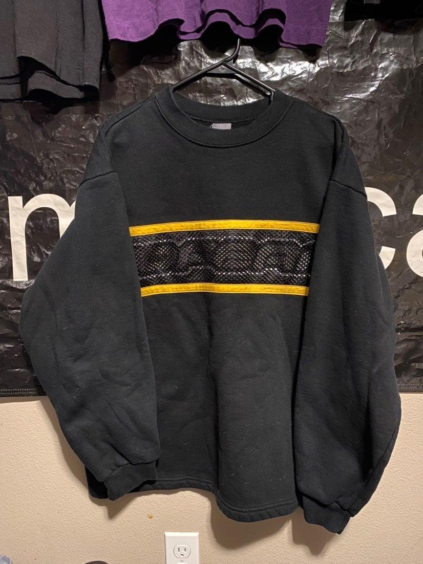 Vtg No Fear Pullover Logo Sweatshirt